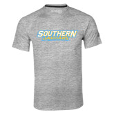 Adidas Climalite Sport Grey Ultimate Performance Tee-Southern Jaguars