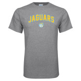 Grey T Shirt-Arched Jaguars