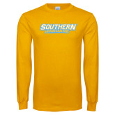 Gold Long Sleeve T Shirt-Southern Jaguars