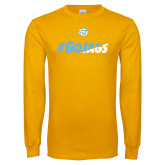 Gold Long Sleeve T Shirt-#GoJags