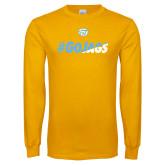 Gold Long Sleeve T Shirt-#GoJags