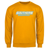 Gold Fleece Crew-Southern Jaguars