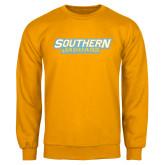 Gold Fleece Crew-Southern Jaguars