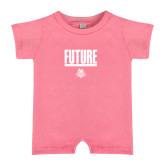 Bubble Gum Pink Infant Romper-Future Jukebox Member