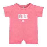 Bubble Gum Pink Infant Romper-Future Jukebox Member