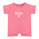 Bubble Gum Pink Infant Romper-Future Dancing Doll