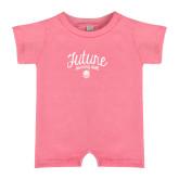 Bubble Gum Pink Infant Romper-Future Dancing Doll