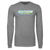 Grey Long Sleeve T Shirt-Southern Jaguars