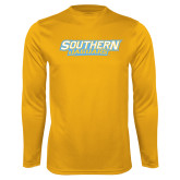 Syntrel Performance Gold Longsleeve Shirt-Southern Jaguars