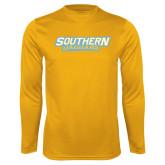 Performance Gold Longsleeve Shirt-Southern Jaguars