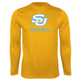 Performance Gold Longsleeve Shirt-Football