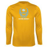 Syntrel Performance Gold Longsleeve Shirt-Southern University Football Helmet
