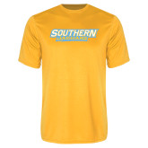 Syntrel Performance Gold Tee-Southern Jaguars