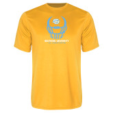 Performance Gold Tee-Southern University Football Helmet
