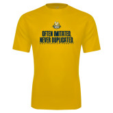 Syntrel Performance Gold Tee-Often Imitated, Never Duplicated