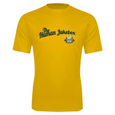 Syntrel Performance Gold Tee-The Human Jukebox Script