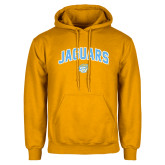 Gold Fleece Hoodie-Arched Jaguars