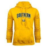 Gold Fleece Hoodie-Arched Southern