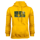 Gold Fleece Hoodie-Nobody Does It Better Stacked