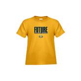 Toddler Gold T Shirt-Future Jukebox Member