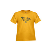 Toddler Gold T Shirt-Future Dancing Doll