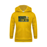 Youth Gold Fleece Hoodie-Nobody Does It Better Stacked
