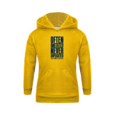 Youth Gold Fleece Hoodie-Often Imitated, Never Duplicated Stacked