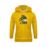 Youth Gold Fleece Hoodie-Nobody Does it Better Music Note