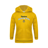 Youth Gold Fleece Hoodie-Fabulous Dancing Dolls Script