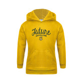 Youth Gold Fleece Hoodie-Future Dancing Doll