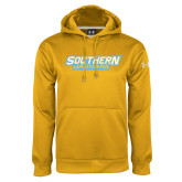 Under Armour Gold Performance Sweats Team Hoodie-Southern Jaguars