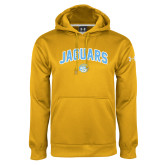 Under Armour Gold Performance Sweats Team Hoodie-Arched Jaguars