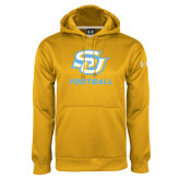Under Armour Gold Performance Sweats Team Hoodie-Football