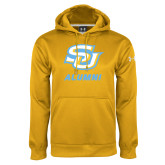 Under Armour Gold Performance Sweats Team Hoodie-Alumni