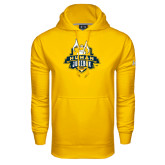 Under Armour Gold Performance Sweats Team Hoodie-The Human Jukebox Official Mark