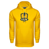 Under Armour Gold Performance Sweats Team Hoodie-Fabulous Dancing Dolls Official Mark