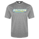 Performance Grey Heather Contender Tee-Southern Jaguars