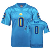 Replica Light Blue Adult Football Jersey-Personalized