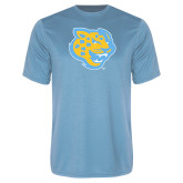 Syntrel Performance Light Blue Tee-Jaguar Head