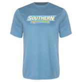Performance Light Blue Tee-Southern Jaguars