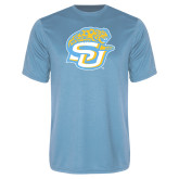 Syntrel Performance Light Blue Tee-SU w/ Jaguar