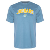 Performance Light Blue Tee-Arched Jaguars