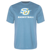 Performance Light Blue Tee-Basketball