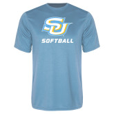 Performance Light Blue Tee-Softball