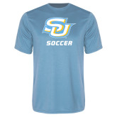 Performance Light Blue Tee-Soccer