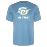 Performance Light Blue Tee-Alumni