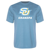 Performance Light Blue Tee-Grandpa