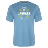 Performance Light Blue Tee-Jaguars Baseball w/ Seams