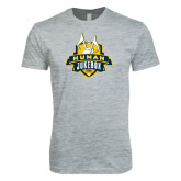 Next Level SoftStyle Heather Grey T Shirt-The Human Jukebox Official Mark