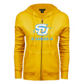 ENZA Ladies Gold Fleece Full Zip Hoodie-Grandma